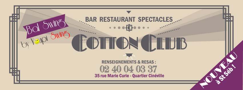 Bals Swing 2014/2015 au Cotton Club